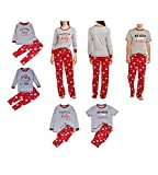 Christmas Matching Family Pajamas Set Sleepwear Nightwear Homewear (Women M)