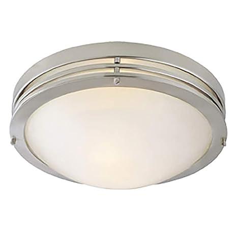 Design house 503284 2 light ceiling light satin nickel close to design house 503284 2 light ceiling light satin nickel aloadofball Choice Image