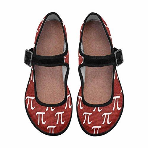InterestPrint Womens Comfort Mary Jane Flats Casual Walking Shoes Multi 10 keCwy