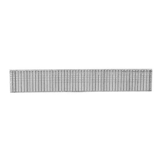 Zerodis 1000 Piezas Grapas de Acero Inoxidable para Grapadora Manual 1008F Clavadora, Set Clavos para Grapadora, Grapa Tipo U Tipo, Grapa Tipo Puerta, ...