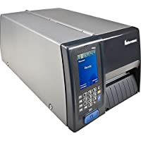 Intermec PM43CA1150000401 Series PM43C TT Desktop Printer, 400 DPI, USB, Serial, Ethernet, Dome and Front Door, Fixed Hanger, US Power Cord