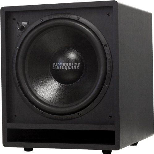 Earthquake Sound FF12 Front Firing Subwoofer (Black, Single) by Earthquake Sound