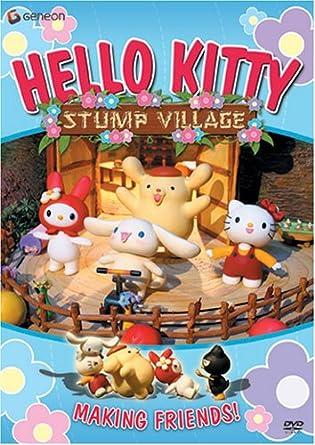 Amazon Com Hello Kitty 2 Stump Village Artist Not