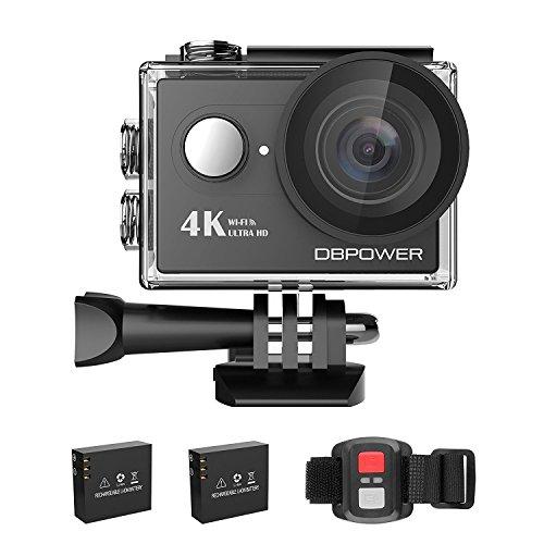 DBPOWER 4K Action Camera WIFI 12MP Waterproof Sport Camera 1
