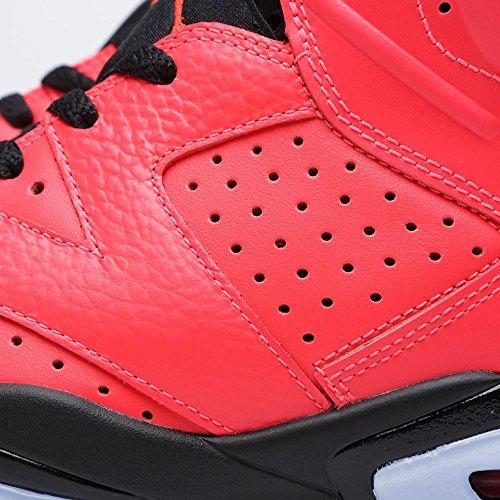 Nike Herren Air Jordan 6 Retro Leder Basketballschuhe rot
