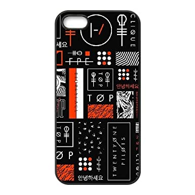 Twenty One Pilots Symbols Meaning Iphone 4 4s Cell Phone Case Black