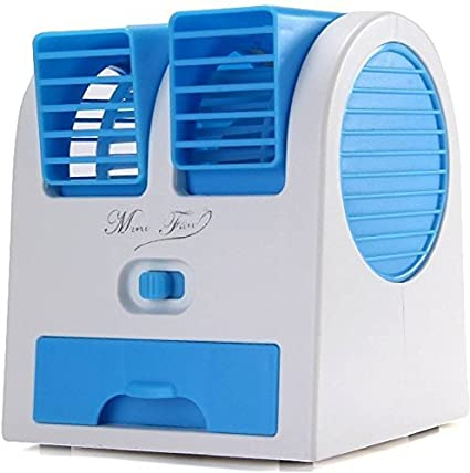 08a082e22 USB Portable Mini Ice Cooled Small Desktop Air Cooler  Amazon.in   Electronics