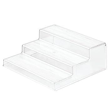 InterDesign Linus Cabinet Organizer Rack U2013 3 Tiered Storage For Kitchen,  Pantry Or Bathroom