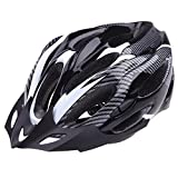 Anself-21-Vents-Ultralight-Sports-Cycling-Helmet-with-Lining-Pad-Mountain-Bike-Bicycle-Adult-Black-and-White