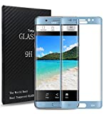 Dmg Premium Curved Full Screen Protector For Samsung Galaxy Note 7(2016) With [Crystal Clear] [9H Hardness] [Anti-Scratch] - Blue