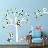 browning confederate flag decal - Copter shop Clever fox squirrel monkeys, owls, tree wall decals for White. Children love birds Vinyl Wall Decal Sticker Nursery Decor.