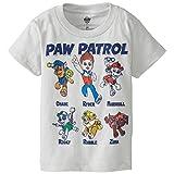 Paw Patrol Kid's Short Sleeve Tee, Silver, 2T