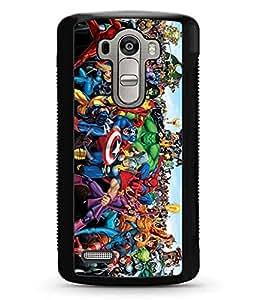 LG G4 Funda Case, Hard Plastic DC Comics Superheroes Unique Design Anti Dust Tough Only Fit LG G4