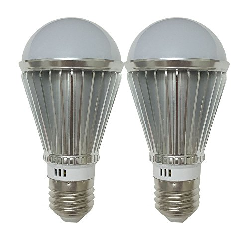 (7W Daylight Dusk to Dawn LED Sensor Bulb - Automatic Turn on and off - Photocell Light Sensor Bulb for Porch Garage Outdoor Security Post Lighting(2 Pack))