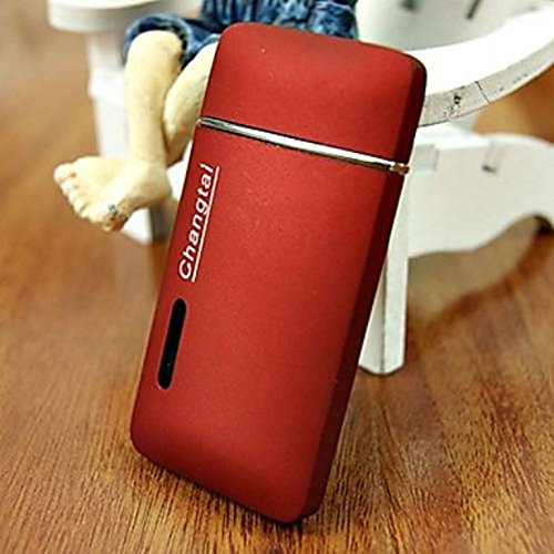 Matte Surface Windproof Lighter - One Lighter with Random Color by Yeahgoshopping