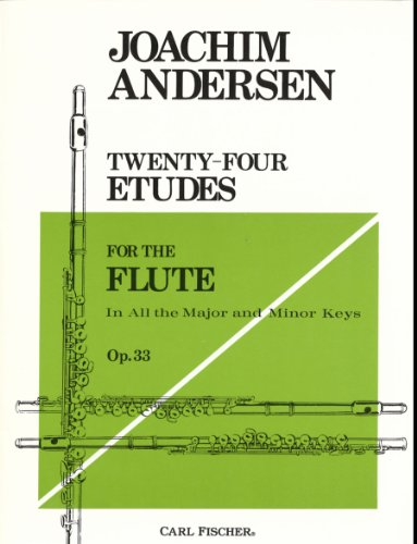 Twenty-Four Etudes for the Flute: In all the Major and...