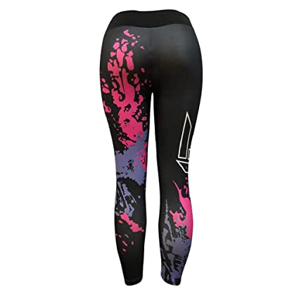 QUICKLYLY Yoga Mallas Leggins Pantalones Mujer,Moda Mujer Entrenamiento Leggings Fitness Deportes Gimnasio Running Yoga Athletic Pants: Amazon.es: Ropa y ...