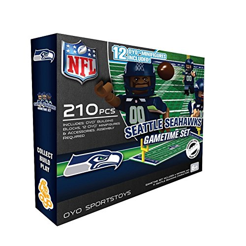 NFL Seattle Seahawks Game Time Set