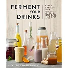 Kombucha, kefir, and beyond: a fun and flavorful guide to fermenting your own probiotic beverages at home 5 <p>kombucha, kefir, and beyond contains healthy, innovative recipes and instructions to show you how to brew your own delicious, probiotic beverages in your own kitchen. Fermented foods have taken the world by storm due to their health and real food benefits. They help improve digestion, enable us to better assimilate vitamins and minerals, and strengthen the immune system. And of all fermented foods, drinks are some of the most versatile—and tasty! You may be able to buy many fermented trips in stores, but making them at home is simple, economical, and makes them even better for you. With just a few ingredients and materials, you can start brewing your own delicious beverages for your family. Kombucha, kefir, and beyond is packed with innovative drink recipes, from healthy homemade sodas to traditional kvass and cider, that you can make in your home kitchen and enjoy all year long!  inside, you'll learn:</p>