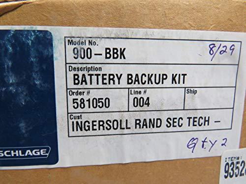 Schlage Electronics 900-BBK Battery Backup Kit for PS900 Series Power Supply