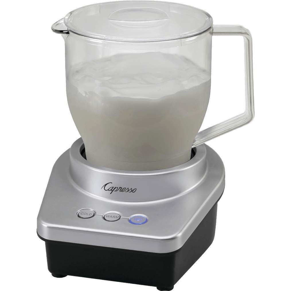 Capresso Froth Max Automatic Milk Frother in Silver/Black