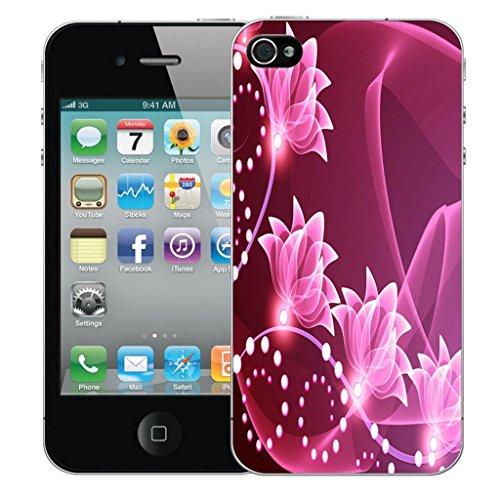 Mobile Case Mate iPhone 5 clip on Dur Coque couverture case cover Pare-chocs - floral signature Motif avec Stylet