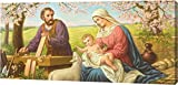 Holy Family by Giovanni - 8''x18'' Gallery Wrapped Giclee Canvas Art Print - Ready to Hang
