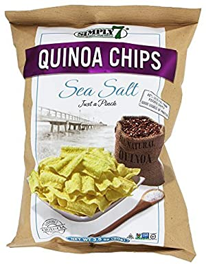 Simply 7 - Quinoa Chips Sea Salt - 3.5 oz (pack of 2) by Simply 7