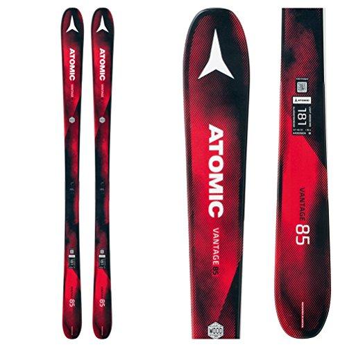 (Atomic Vantage 85 Ski Black/Red, 157cm)