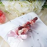 "BalsaCircle 25 pcs 6"" Wedding Favors Cone Boxes - Clear"