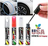 Car Scratch Remover, STCORPS7 Waterproof DIY Car Clear Scratch Remover Touch Up Pens Scratch Repair Pen Removing Clear Pen for Cars Trucks Motorcycles Boats Scratch Remover (Black)