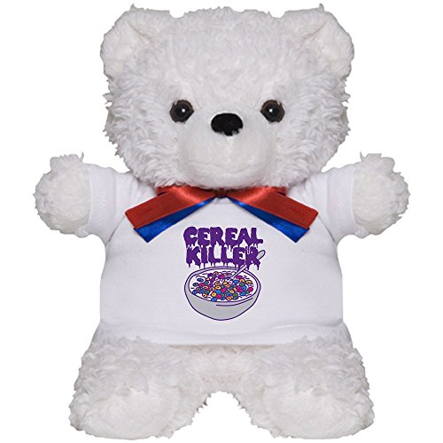 CafePress - Cereal Killer - Teddy Bear, Plush Stuffed Animal ()