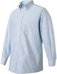 Mens Dress Shirts Regular Fit Oxford Solid Button Down...