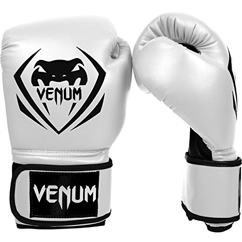 Venum Contender Boxing Gloves - White - 12-Ounce