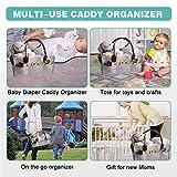 TISSA Baby Diaper Caddy Organizer,Diaper Storage