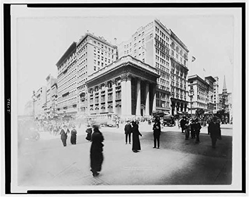 Photo: Fifth Avenue & 34th Street,New York City,NYC,c1914,Shoe - Street Shops 34th
