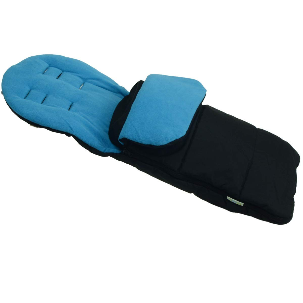 Black Jack Premium Footmuff//Cosy Toes Compatible with Silver Cross Wayfarer