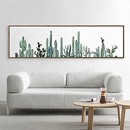 Stylish Cactus Canvas Print, Wall Art, Poster, Home Decor. Airbnb Home Decor