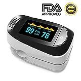 Best Pulse Oximeter For Nurses - Pulse Oximeter Portable Digital Oxygen Sensor with SPO2 Review