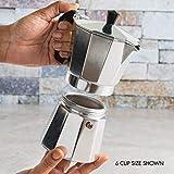 Primula Aluminum Maker Bold, Full Body Espresso