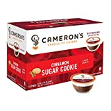 Cameron's Cinnamon Sugar Cookie Coffee Capsule, Compatible with Keurig K-Cup Brewers, 12-Count