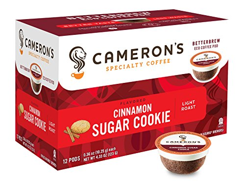 Camerons Single Coffee Cinnamon packaging product image