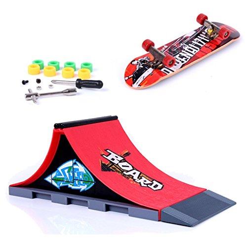 Skate Park Skatepark Ramp Parts For Tech Deck Finger Board #A - 5
