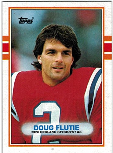 1989 Topps   Traded New England Patriots Team Set With Doug Flutie   Irving Fryar   15 Cards