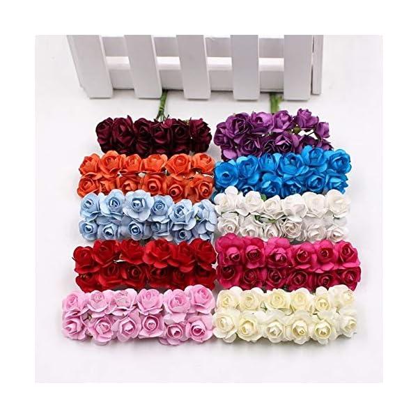 12-PiecesLot-Artificial-Flower-Mini-Cute-Paper-Rose-Handmade-For-Wedding-Decoration-DIY-Wreath-Gift-Scrapbooking-Craft-Fake-Flower