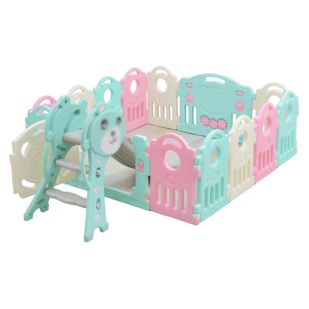 Kinderzimmer Zaun, Baby Spiel Haus Spielzeug Zimmer Indoor Sicherheit Schutzzaun Rutsche Puzzle Spielplatz 37,5-75 cm