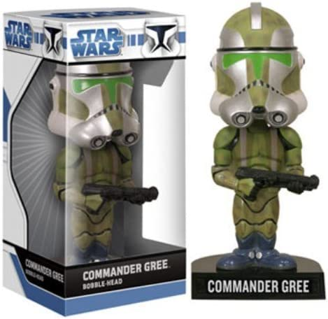 Captain Rex Wacky Wobbler Bobble Head FUNKO Star Wars The Clone Wars
