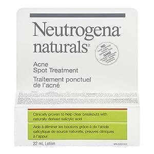Neutrogena Naturals Acne Spot Treatment Gel for Breakouts, with Salicylic Acid, 22ml