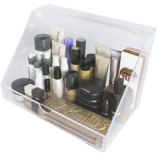 sorbus acrylic cosmetics makeup organizer storage case palette import it all. Black Bedroom Furniture Sets. Home Design Ideas