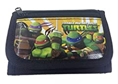 This is Teenage Mutant Ninja Turtles official licensed TRIFOLD WALLET. This item has 30 DAYS WARRANTY ( your purchase will be replaced or refunded if it is damaged under 30 days after purchase ( not excessive/misuse). Be confident to buy.